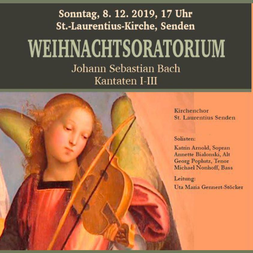 """Konzert """"Weihnachtsoratorium"""""""